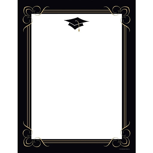 Great Papers Scroll & Flourish Letterhead, 80/Pack
