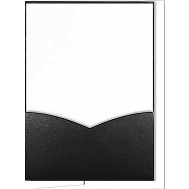 Great Papers Modest Invitation Kit, Black, 28/Pack