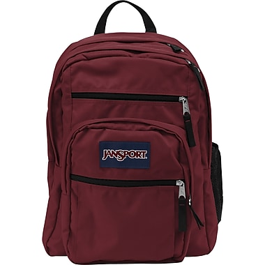 Jansport - Grand sac à dos pour étudiant, rouge viking