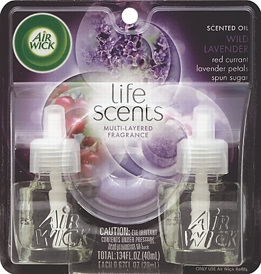 Air Wick® Scented Oil Warmer Refill, Sweet Lavender Days, 2/Pack