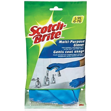 Scotchbrite™ Multi Purpose Gloves, Large/X-Large, Blue