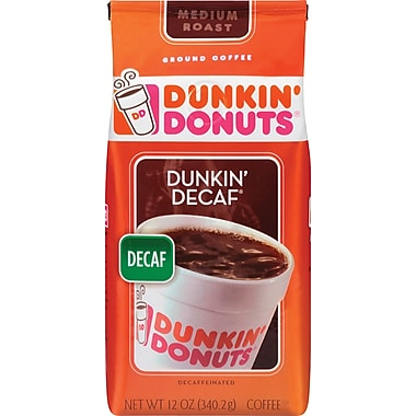 Dunkin' Donuts Dunkin' Decaf Ground Coffee, 12 oz