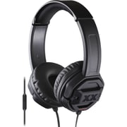 JVC Xtreme Xplosives Deep Bass On-Ear Remote+Mic Stereo Headphone, Black
