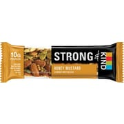 Strong & KIND Honey Mustard  Almond Protein  Bar, 1.6 oz, 12 count