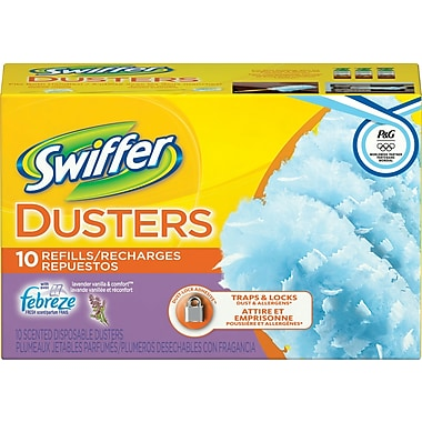 Swiffer® Lavender and Vanilla Febreze Comfort Dusters Refills, 10 Cloths/Box
