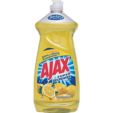Ajax Super Degreaser Dish Soap, Lemon Scent, 28 oz.