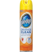Pledge® Furniture Polish Spray, Orange Clean, 9.7 oz.