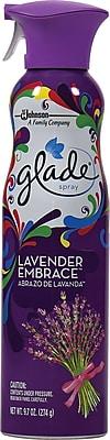 Glade Air Freshener Spray, Lavender Embrace, 9.7