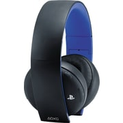 Wireless Stereo Headset Gold for Playstation 4, Black
