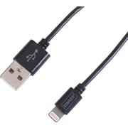 Staples 1 Meter Lightning™ to USB Cable for iPad ,iPhone, or iPod, Black