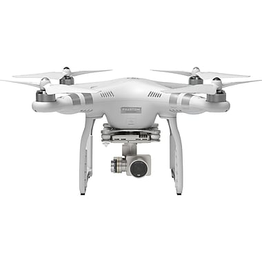 DJI – Drone quadricoptère évolué Phantom 3 avec caméra intégrée