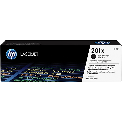 HP 201X Black High Yield Toner Cartridge (CF400X)