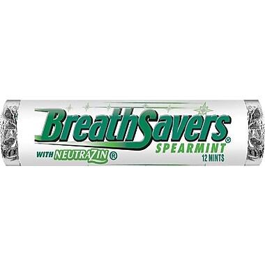 Breath Savers Spearmint Mints, .75 oz., 24/Box