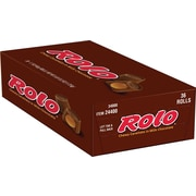 Rolo Chewy Caramels in Milk Chocolate, 1.7 oz., 36/Box