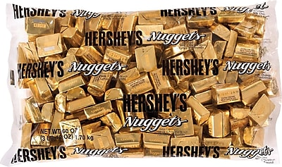 Hershey's Nuggets Extra Creamy Milk Chocolate with Toffee and Almonds, 3.75 lb.