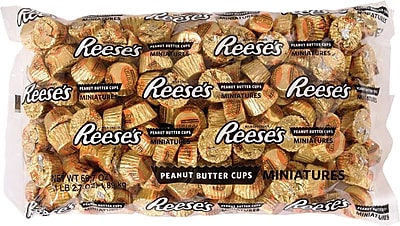 Reese's Peanut Butter Cups Miniatures Bag, 4.1 lb. 1508133