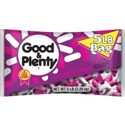 GOOD & PLENTY Licorice Candy, 5 lbs