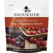 Brookside® Dark Chocolate Goji & Raspberry flavors, 7 oz., 12/Ct