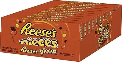 Reese's Pieces Box, 4 oz., 12/Case