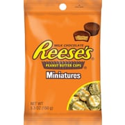 Reese's Peanut Butter Cups Miniatures, 5.3 oz., 12/Case