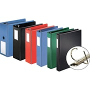 "Cardinal® ExpressLoad Reference Binder with Label Holder, 4"", Black"