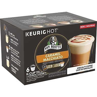 Van Houtte – Godets K-Cup Caramel Macchiato de la collection de spécialité