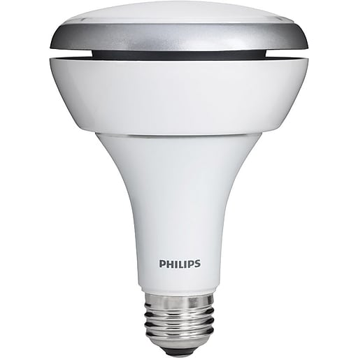 Philips 10.5 Watt BR30 LED Indoor Flood Light Bulb, Soft