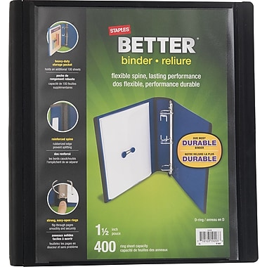 Staples Better Binder, 1-1/2