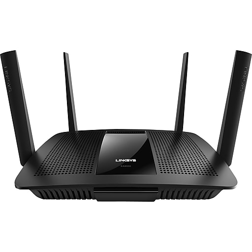 Linksys AC2600 MU-MIMO Gigabit Wi-Fi Router, Over 600 Mbps, 3 Ports