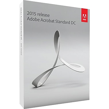 Adobe Acrobat Standard DC for Windows (1 User) [Download]