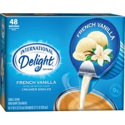 International Delight Liquid French Vanilla Cups, 48/BX