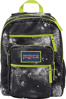 Jansport Big Student Backpack, Black Galaxy