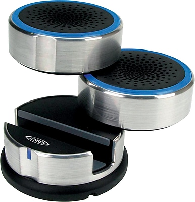Jensen Portable Swivel Speaker Aux in