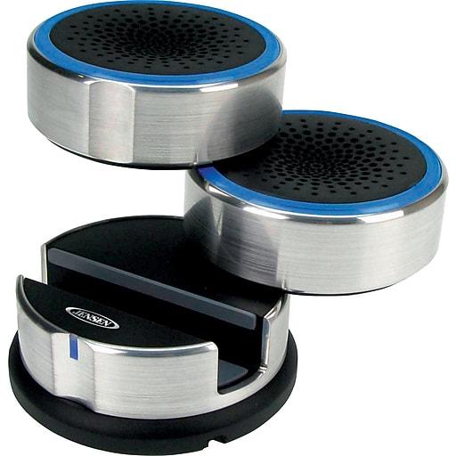 Jensen Portable Swivel Speaker Aux in