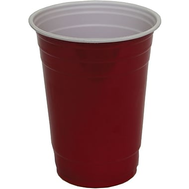 Red 16 oz Plastic Cup (M2C100A16)