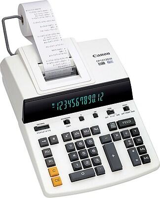 Canon® CP1213DIII Desktop Printing Calculator