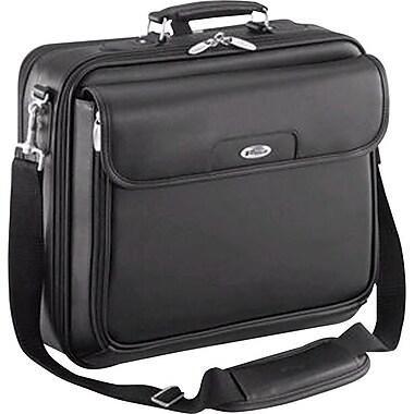 Targus - Serviette en cuir pour ordinateur portatif de 15,4 po, noir (CLN5)