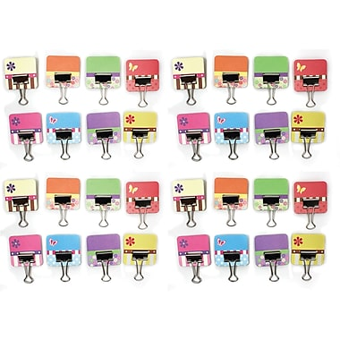 Clip-rite CRT052 Spring Collection Binder Tabs with Clips