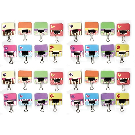 clip rite crt052 spring collection binder tabs with clips staples