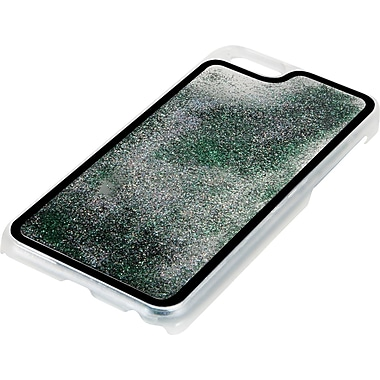 Pilot iPhone 6 Glitter Case, Green/Black