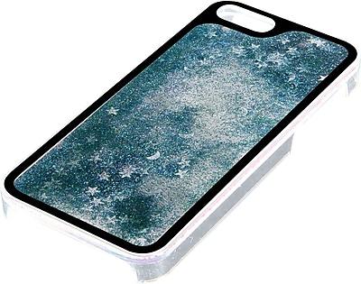 Pilot iPhone 5/5s Glitter Case, Aqua Moons