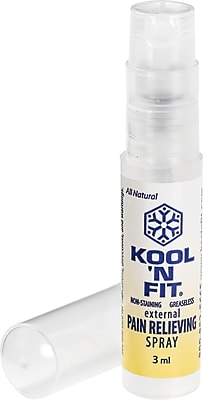 Kool 'N Fit Pain Relieving Spray, 3ml Sample