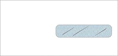Non-Imprinted Standard Claim Right Window Envelopes, 9.5