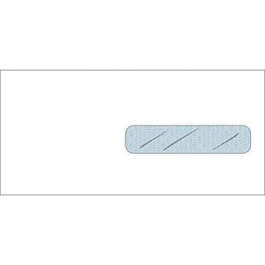 Non-Imprinted Standard Claim Right Window Envelopes, 9.5 x 4.5 inch, Gummed, 500/Box