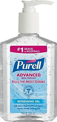 Image result for purell hand sanitizer 8 oz