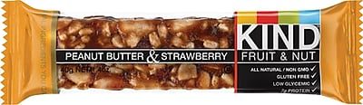 KIND Bar Peanut Butter & Strawberry, 12/CT