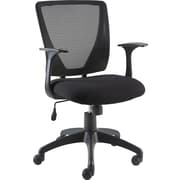 Staples® Vexa Mesh Chair, Black