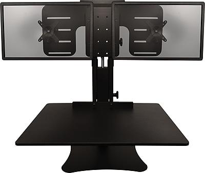 Victor Technology DC350 Desk Extender Sit Stand Desk Black