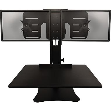 Victor Technology DC350 Desk Extender Sit & Stand Desk, Black (DC350)