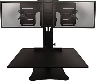 Victor Technology DC350 High Rise Dual Monitor Sit-Stand Desk Converter
